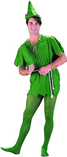 Lost Boys Costume Peter Pan (Peter Pan, Lost Boy, Unisex Adult - Unisex (X-Large))