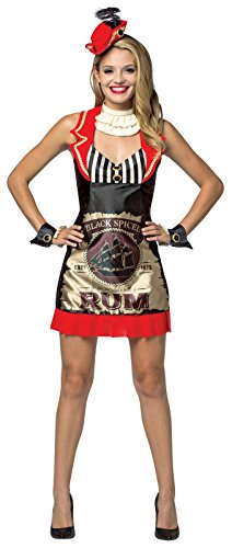 Coke Bottle Halloween Costume (Rum Dress for Women Standard)
