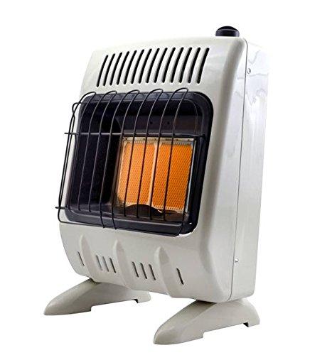 Mr. Heater Corporation Vent-Free 10,000 BTU Radiant Propane Heater, - Buddy Portable Propane Heater