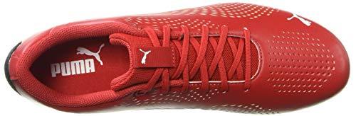 PUMA Ferrari Drift CAT 5 Ultra Sneaker, Rosso Corsa White, 9.5 M US