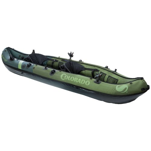 Sevylor Coleman Colorado 2-Person Fishing Kayak 2 Person Travel Kayak