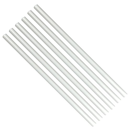Poly-Dowels, 16 x 1/2 Inches White by GSA 6 count