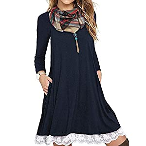 Tunic Summer Dress with Pockets