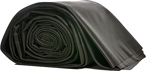 L45-1010, UV and Ozone resistant,45 Mil,10-Feet x 10-Feet Rubber Pond Liner ()