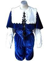 "Rozen Maiden Cosplay Costume - Souseiseki ""Lapislazuli Stern"" Outfit 1st X-Small"