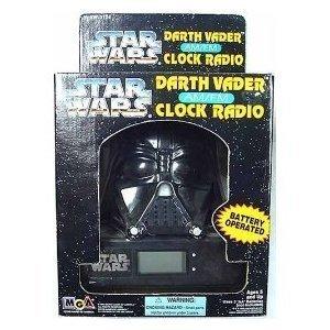 UPC 035051226000, Star Wars Darth Vader AM/FM Clock Radio by MGA