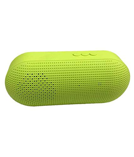 Teconica YZ875 Portable Bluetooth Speaker Super Bass Sound Supported AUX   SD Card  USB Compatible for All Mobilephone (Multi Colour)
