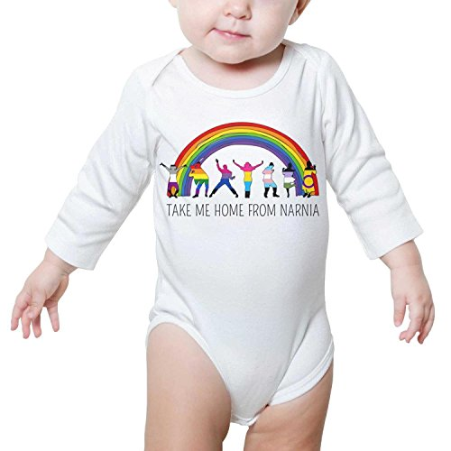 (XMBUY Take Me Home from Narnia Pride Bodysuit Outfits Clothes Take Me Home Autumn Kids Boys Girls Crazy Baby Onesie Long)