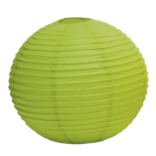 Weddingstar-Round-Paper-Lantern-Medium-Candy-Apple-Green
