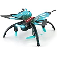 Drone with Camera,Aritone JJRC H42 2.4G RC Wifi Quadcopter Butterfly-shaped Altitude Hold 3D Roll With One Key Return LED Drone