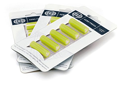 Sebo 0496/1 Fresh Vacuum Cleaner 5 fragrances per card, fragrance lime