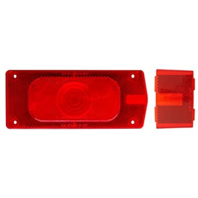 Optronics A36R Red Tail and Side Marker Light Replacement Lens Set: Automotive