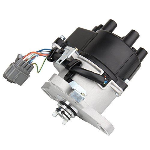 (Bang4buck Ignition Distributor Cap and Rotor TD44U, TD68U, 30100-P30-006 for 1992-1995 Honda Civic/Del Sol; 1992-1995 Acura Integra)