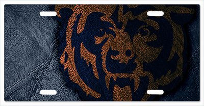 - Chicago Bears - The Run v06 Vanity License Plate
