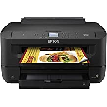 WorkForce WF-7210 Wireless Wide-format Color Inkjet Printer with Wi-Fi Direct and Ethernet, Amazon Dash Replenishment Enabled