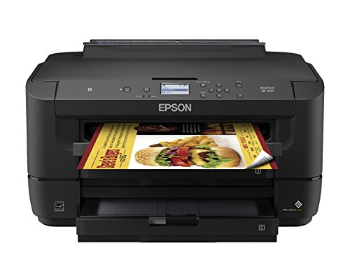 Workforce WF-7210 Wireless Wide-Format Color Inkjet Printer with Wi-Fi Direct and Ethernet, Amazon Dash Replenishment Enabled by Epson (Image #5)