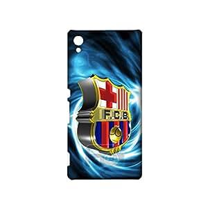 3D Barcelona Logo Phone Case for Sony Xpenia Z5 Premium , Sony Xpenia Z5 Premium 3D FC Barcelona Logo Cover Case Primera Division De Liga Unqiue Design