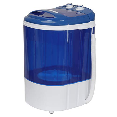 SUPER DEAL 9lbs Capacity Mini Washing Machine Compact Counter Top Washer w/Spin Cycle Basket and Drain Hose