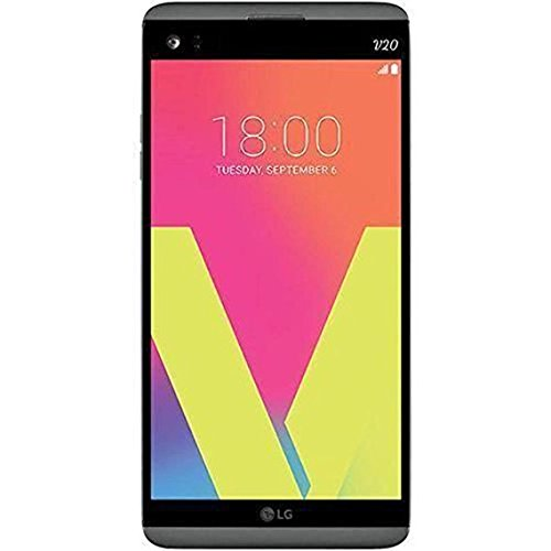 LG V20 64GB H918 - Unlocked by T-Mobile for all GSM Carriers (Titan Gray) (Renewed)