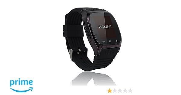 PRIXTON Smartwatch SWB16 - Reloj Inteligente para iOS ...