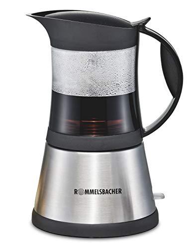 Rommelsbacher EKO 376/G – Cafetera de espresso manual, 0,3 l, 365 W, color gris