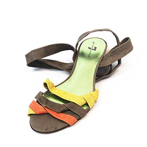 7 para todos los tipos de la humanidad de tobilleras con peso sandle para sujetar con forma de, Reino Unido con Tamaño de 3,5, £139 de marrón - Brown-melon