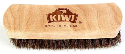Kiwi Leather Shine Horsehair 2 Pack