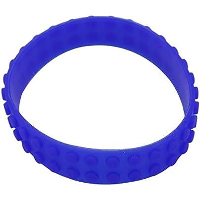 Komonee Dark Blue Toy Block Bricks Silicone Wristband Estimated Price £2.45 -