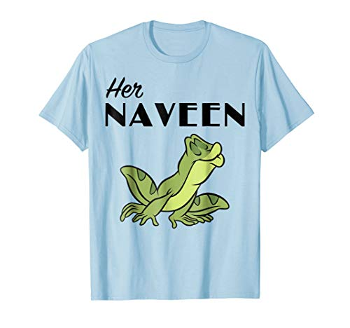 - Disney Princess And The Frog Her Naveen Graphic T-Shirt