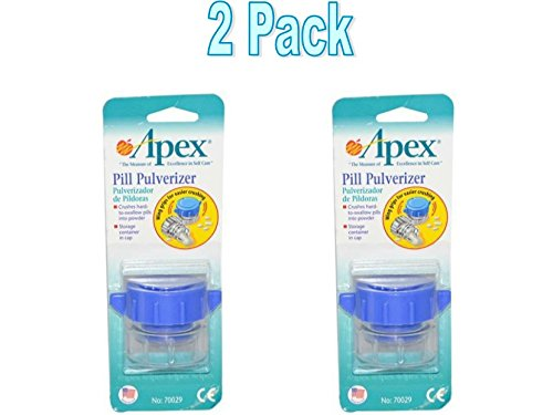 Apex-Carex Healthcare Pill Pulverizer 1 Unit by APEX/CAREX HEALTHCARE