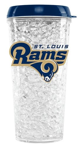 (St. Louis Rams Crystal Freezer Travel)