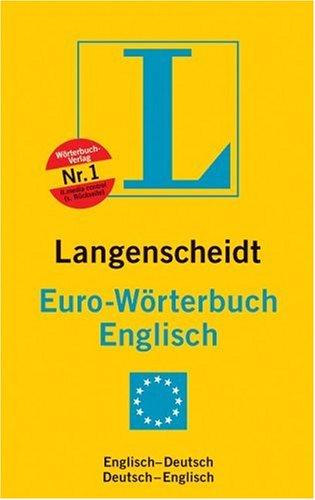 Langenscheidts Eurowörterbuch, Englisch, Sonderausgabe