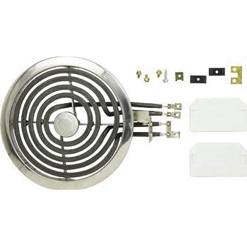 "GE Range Stove 8/"" Burner Kit WB30X0316 WB30X0307 WB30X0306 WB30X0303 WB30X0302"