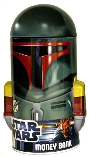 The Tin Box Co of America Tin Box Co Head Shaped Bank Star Wars (Star Wars Bank)