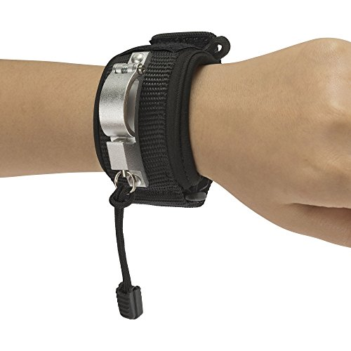 LIBERTY WRISTBAND (Black - Innovative Wristband for Dog Walking Attaches to Any Dog Leash Converting It Into A Super Leash with Safety, Comfort and Hands Free - Small Wrap Tuff Comfort