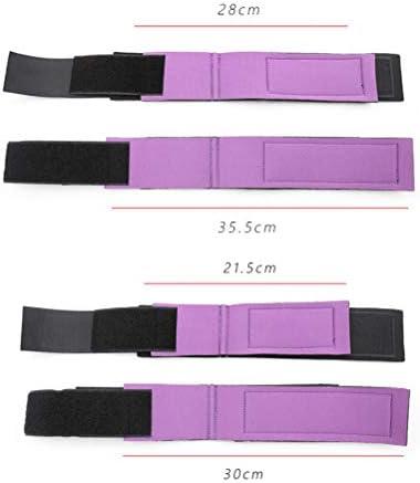 Healifty Einstellbare Handschellen für Erwachsene Bettmanschetten Beinmanschetten Hand- und Fußfesseln Bettfesseln für Paarliebhaber (Schwarz)