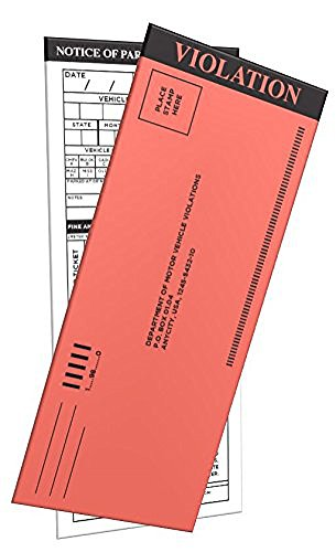 Pack PARKING TICKETS Multiple selections