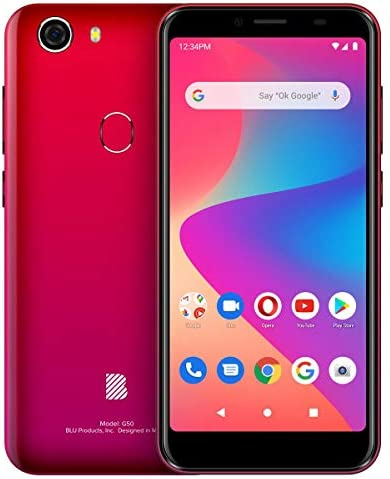 BLU G50 G0330WW 32GB GSM Unlocked Android Smart Phone - Red WeeklyReviewer