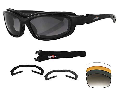 Bobster Eyewear Road Hog 2 Blk Convert/Intch Brh2001 New