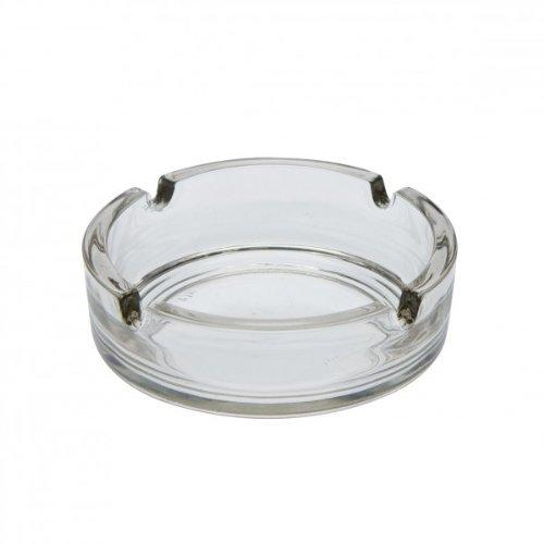 Arcoroc Cologne Aschenbecher aus Glas, klar, Ø 8.5cm, mit 4 Ablagen, 1 Stück Ø 8.5cm 1 Stück 51257