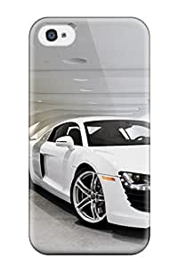 For Iphone 4/4s Protector Case Audi R8 2011 Phone Cover
