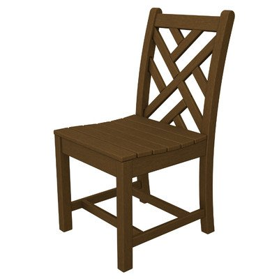 Chippendale Dining Side Chair [Set of 2] Finish: - Mahogany Style Side Chippendale Chair