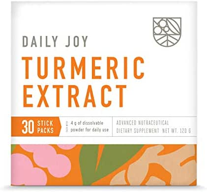 Turmeric (Curcumin) Extract - Daily Glowing Skin Anti-Inflammatory Antioxidant Supplement Plus Gut, Brain, Liver Support, NSF Labs Tested, Vegan, Gluten Free - Box of 30 Stick Packs