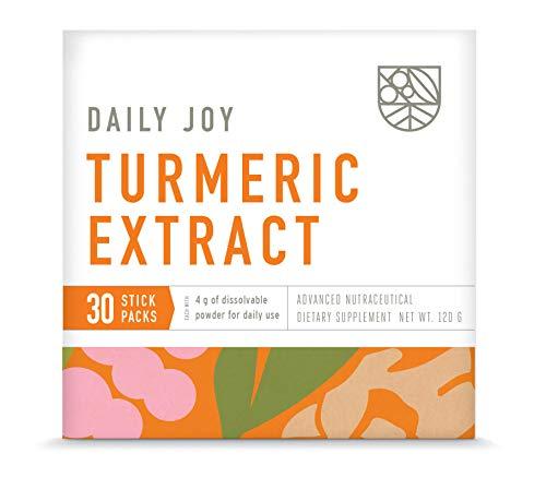 Turmeric (Curcumin) Extract – Potent Immune Support Anti-Inflammatory Antioxidant Supplement Plus Gut, Brain, Liver…