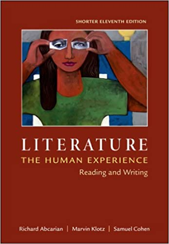 Amazon literature the human experience shorter edition literature the human experience shorter edition reading and writing eleventh edition fandeluxe Images