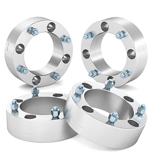 RockTrix for Precision European (4) 2'' Thick 4x137 ATV Wheel Spacers - 10x1.25 Studs for Kawasaki Can Am Can-Am: Brute Force Mule Outlander Commander Maverick Renegade Bombardier, bobcat wheel spacers by RockTrix (Image #2)