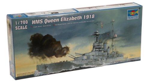 Trumpeter 1/700 HMS Queen Elizabeth 1918 British - 700 Models Midship