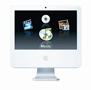 """Apple iMac G5 Desktop with 17"""" MA063LL/A (1.9 GHz PowerPC G5, 512 MB RAM, 160 GB Hard Drive, SuperDrive) (Discontinued by Manufacturer)"""