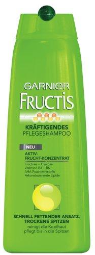 Garnier Fructis Shampoo Schnell Fettender Ansatz Trockene Spitzen