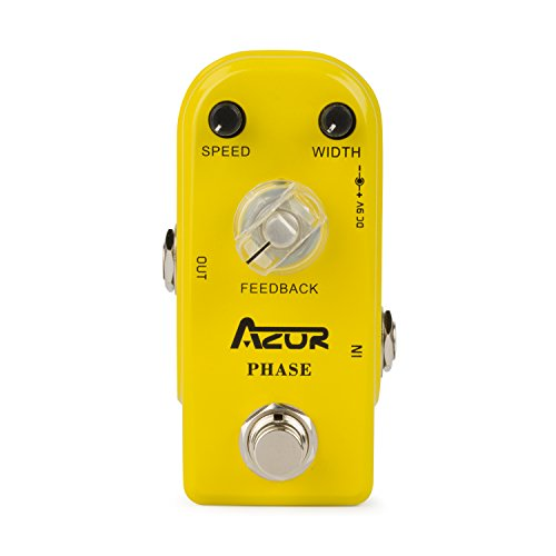 (AZOR Phase True Bypass Guitar Effect Pedal Pure Analog)